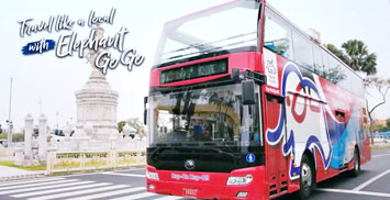 Elephant Go Go Bus